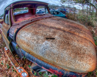 1950's Ford Truck_Ultra High Definition Art