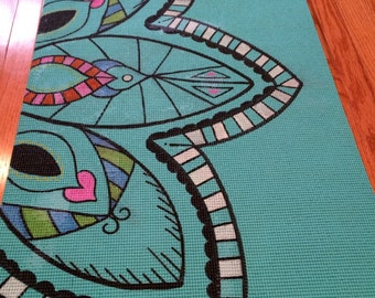 Custom Fun Mandala Yoga Mat