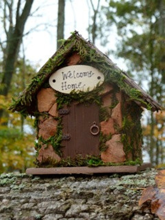 Fairy house miniature fairy garden houses custom made gnome