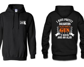 On Sale - PRETTY DAUGHTERS  Hooded Sweatshirt