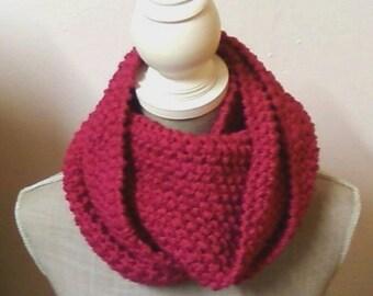 Circular scarf Moss