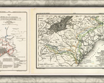 24x36 Poster; Map Of Selma, Alabama & Shermans March