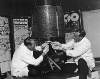 24x36 Poster; Intelsat I (Early Bird) First Telecommunications Satellite