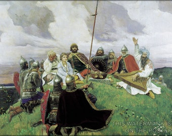 24x36 Poster; Boyan Viktor Vasnetsov.  (1910)