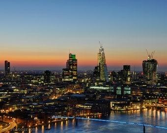 London Sunrise Print