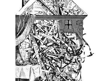 House of Stocks- Harbinger a Lambda photographic print on high gloss Kodak Endura Paper