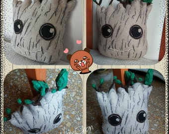 groot plush . guardians of the galaxy