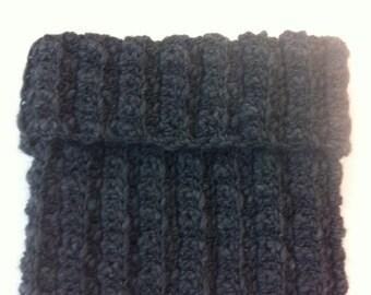 Wool neck warmer scarf-# 112