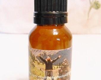 Spa Anxiety Oil, Herbal Anxiety Relief Rub, Organic Panic Relief, Anxiety Panic Attack Relief, Calming Bath oil, Calming Shower Oil, 1 oz.