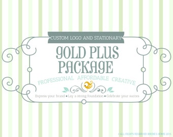 Custom Branding Package with Multiple Revisions, Custom Logo Design, Banner, Avatar, Facebook Cover, Business Card, and Letterhead Design