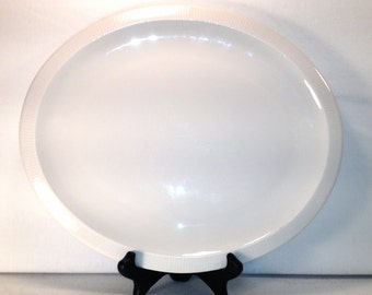 Franciscan Oval Platter with Bevelled Edge