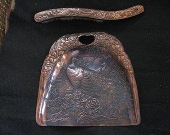 Antique Copper Silent Butler