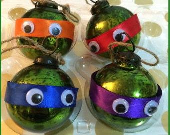 Teenage Mutant Ninja Turtles Ornaments!