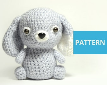 PATTERN Amigurumi pattern Dog crochet dog pattern stuffed eco toy crochet puppy pattern crochet little dog animal toy amigurumy crochet toy