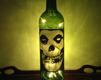 Misfits Wine Bottle Lamp