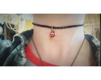 90s grunge chocker necklace