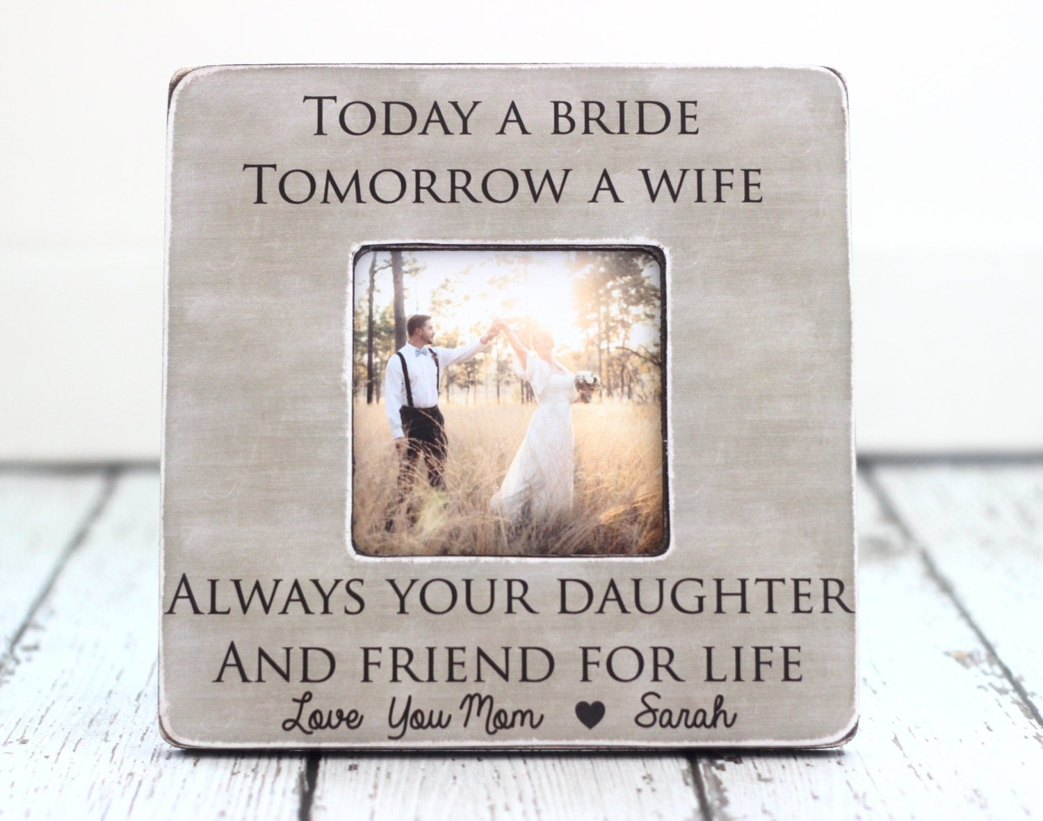 Wedding Gift Ideas For Mom: Mom Mother Wedding Thank You Gift Today A Bride Tomorrow A