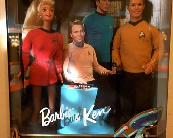Barbie and Ken Star Trek