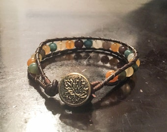 Yuri - Multicolor Wrap Bracelet