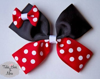 Minnie Mouse Hairbow, Minnie Mouse Bow