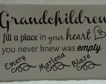 Grandchildren Fill A Place in Your Heart You Never Knew Was Empty