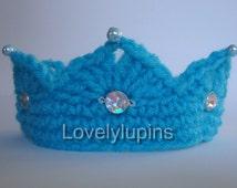 baby crown, crown gems, crochet crown, crochet photo prop, photo prop, baby beaded crown, baby photo prop, royal gems crown, king, queen,