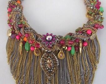 Handmade Exuberant Necklace