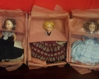 Madame Alexander First Ladies Collector Dolls