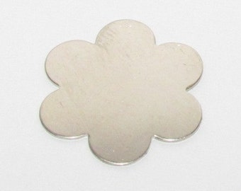 6 Petal Flower Nickel Blank (5)