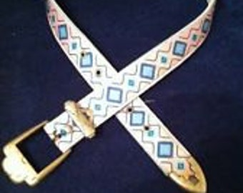 "Vintage 1980'S Nuovo/County Seat Women's Belt Sz 7, 25-29"""