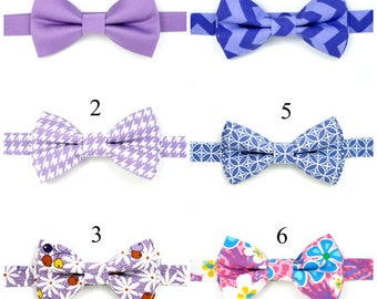 Purple chevron bow tie,Purple bow tie,Easter bow tie,Wedding bow tie,Party bow tie for Men ,Toddlers ,Boys,Baby