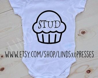 Studmuffin ; Little Boy Onesie; Funny Onesie; Studmuffin; Stud; Boy Onesie; Baby Onesie; Baby Shower Gift