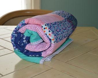 Cozy Patchwork Lap Quilt