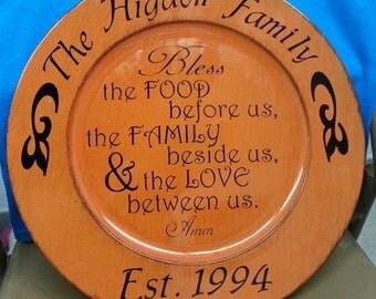 Personalized Decorative Plate