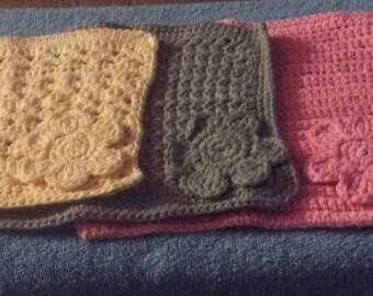 Set of Three Crochet Potholders