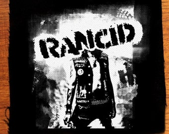 Rancid punk patch, punk patches
