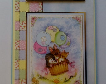 Hunkydory Handmade card 'Hope you have a fantastic day'