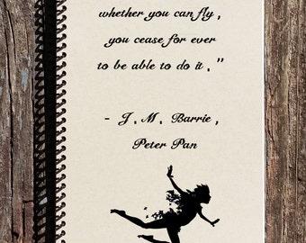 Peter Pan Notebook - Peter Pan Journal