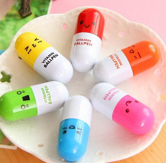 stylo bic vitamine