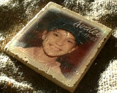 Personalized, Stone Tile Coasters, Gift-Set Of 4