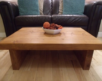 Extra Chunky Rustic Coffee table