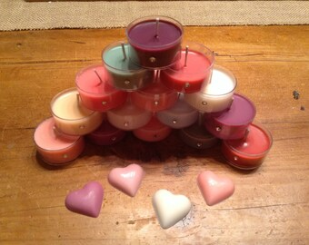 5-Tea Lights Lotion Candles of Your Choice, great way to try several fragrances at once.