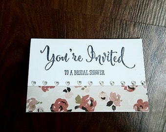 You're Invited - Bridal Shower ( Set of 5)
