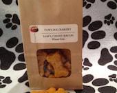 Sam's Cheesy Bacon Dog Treats - 100% All Natural, Healthy, Wheat Free and No Preservatives.