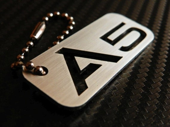 audi a5 keychain key tag. Black Bedroom Furniture Sets. Home Design Ideas