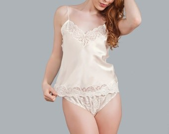 Eva Silk Knicker - Luxury Collection