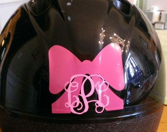 Riding Helmet Decal Etsy - Pink motorcycle helmet decalscustom vinyl decals part