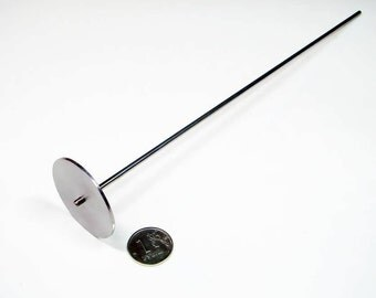 Mandrel under cabochon range d40 mm, lampwork tools, lampworking