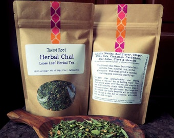 Herbal Chai loose leaf herbal tea