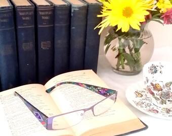 Antique Collection of Classic Literature William Shakespeare Cloth Hardcover Bound Books Falstaff Edition